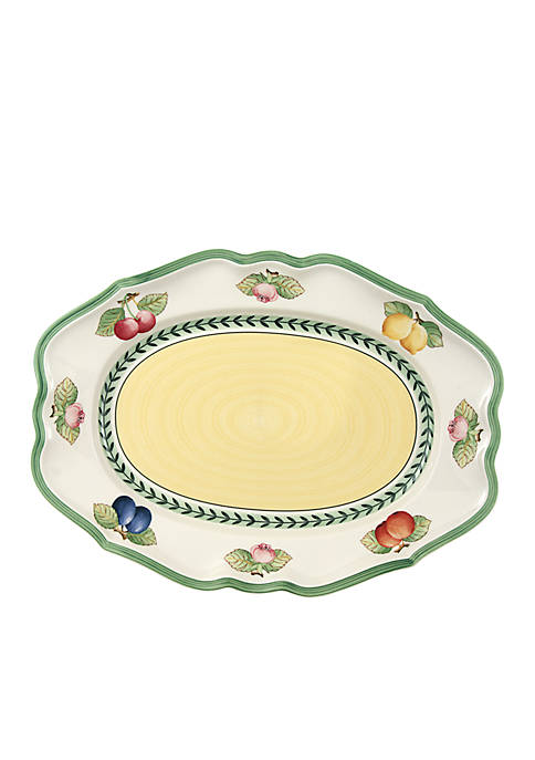 French Garden Fleurence Oval Platter