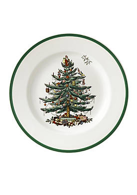 Christmas Tree Salad Plate - 8-in.