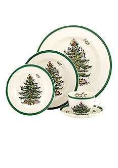 Royal Worcester Spode Christmas Tree Dinnerware