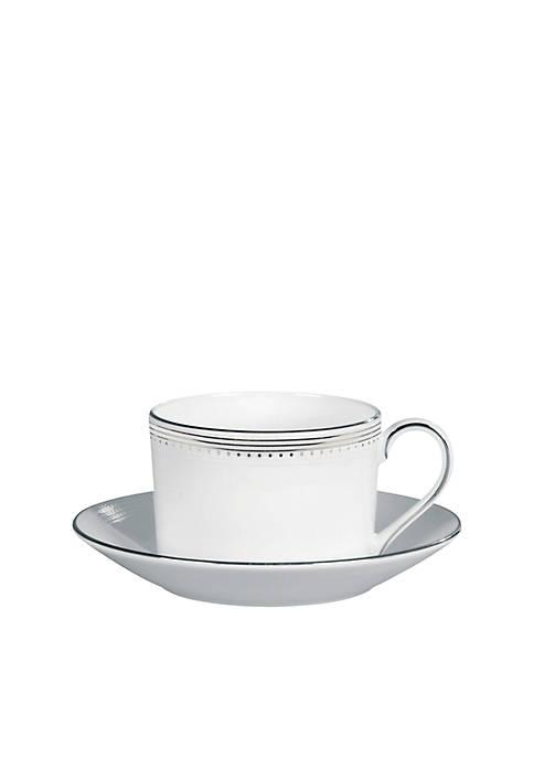 Vera Wang Wedgewood Grosgrain Tea Saucer