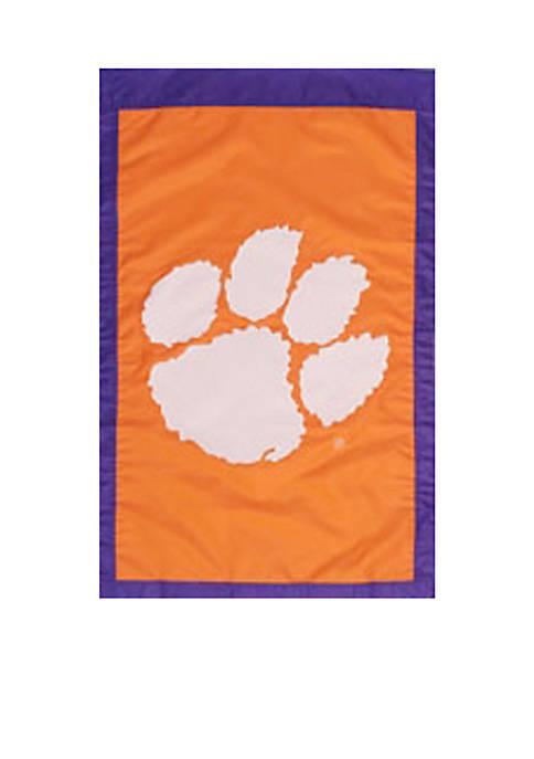 Evergreen Clemson Tigers House Flag