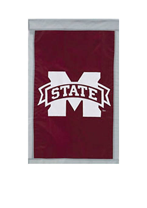 Evergreen Mississippi State Bulldogs House Flag
