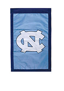 Evergreen UNC House Tar Heels Flag