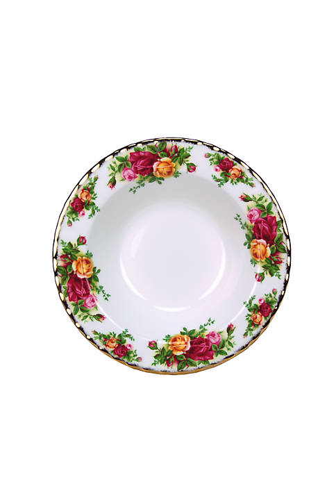 "Royal Albert Old Country Roses 8"" Rim Soup"