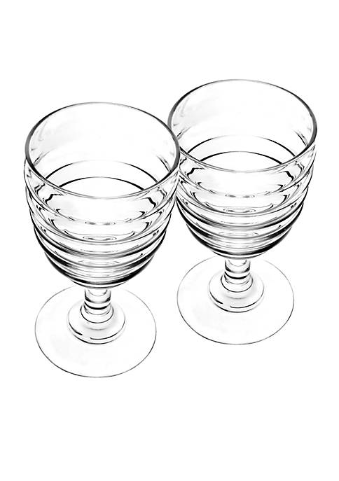 Portmeirion Set of 2 Wine Glasses