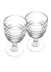 Set of 2 Wine Glasses