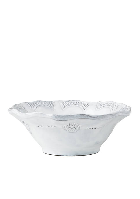 Incanto White Lace Cereal Bowl