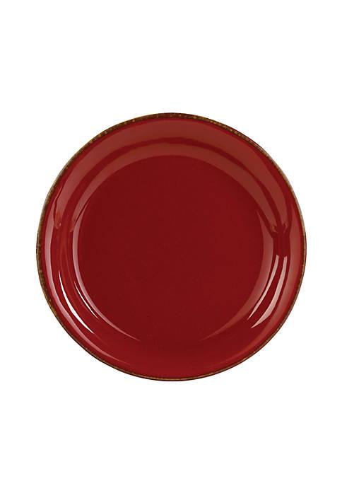 Rosso Vecchio Salad Plate