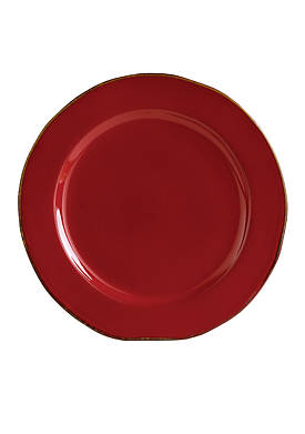 Rosso Vecchio Service Plate/Charger