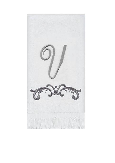 Avanti Monogram Tip Towel