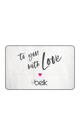 Valentine's Day Gift Card