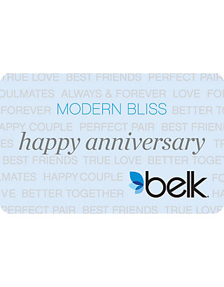 Belk Happy Anniversary Gift Card